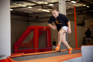 Chelsea Cupido in Action at The Kids Gym - Molenbeek School - PLC