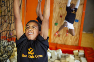 Molenbeek School children at The Kids Gym Cape Town